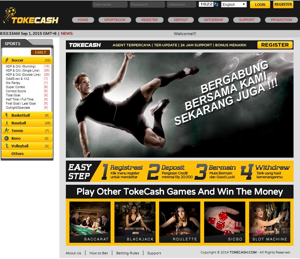 Toke Goal Agen Judi Bola Poker Dan Live Casino Online Terpercaya Indonesia
