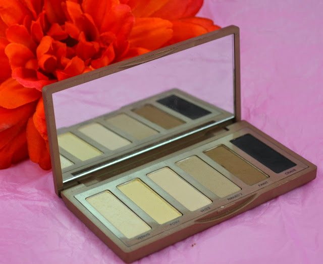 Urban Decay - Naked Basic - eyeshadow palette - swatches - matte eyeshadows - satin eyeshadow - mini palette - neutral eyeshadow - smokey eyeshadow - review
