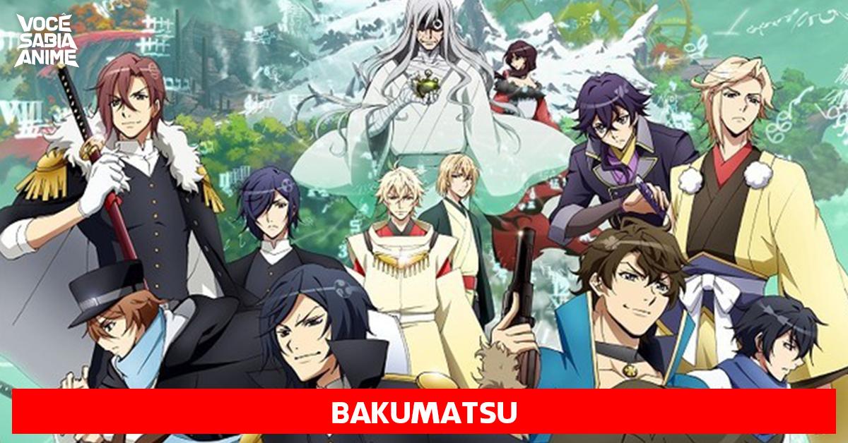 Bakumatsu - revelado novo visual e aparência de personagens