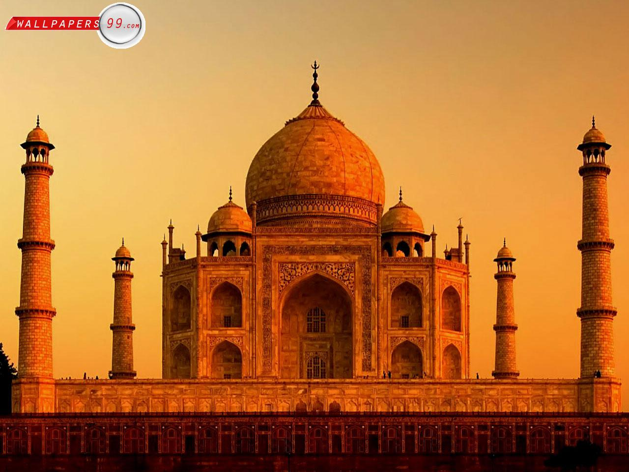 HD WALLPAPER GALLERY: Taj Mahal India Wallpaper
