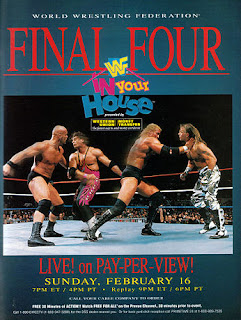 WWF / WWE - In Your House 13: Final Four - Event poster
