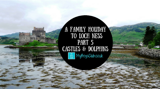 Family Holiday to Loch Ness with Castles and Dolphins at Eilean Donan, Plockton, Black Isle and Moray Firth