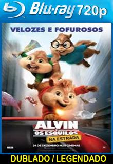 Alvin e os Esquilos Na Estrada – Dublado
