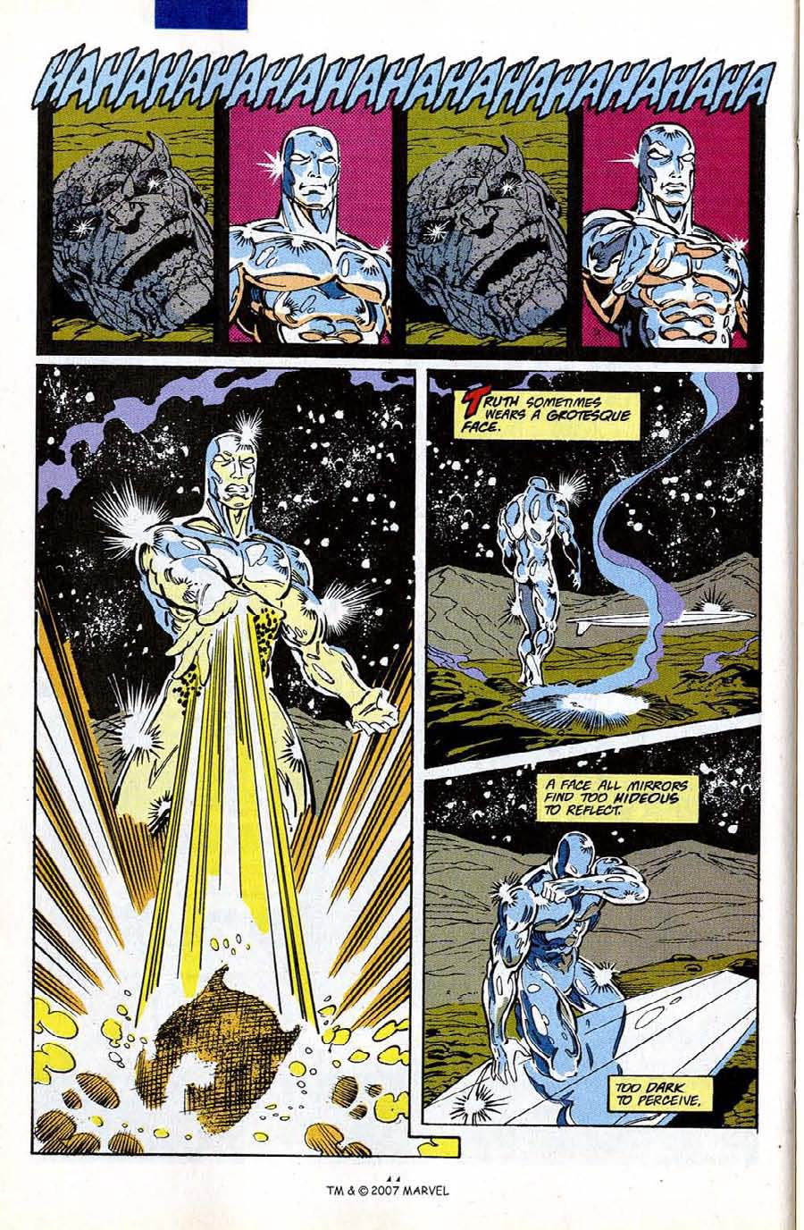 Read online Silver Surfer (1987) comic -  Issue #50 - 46