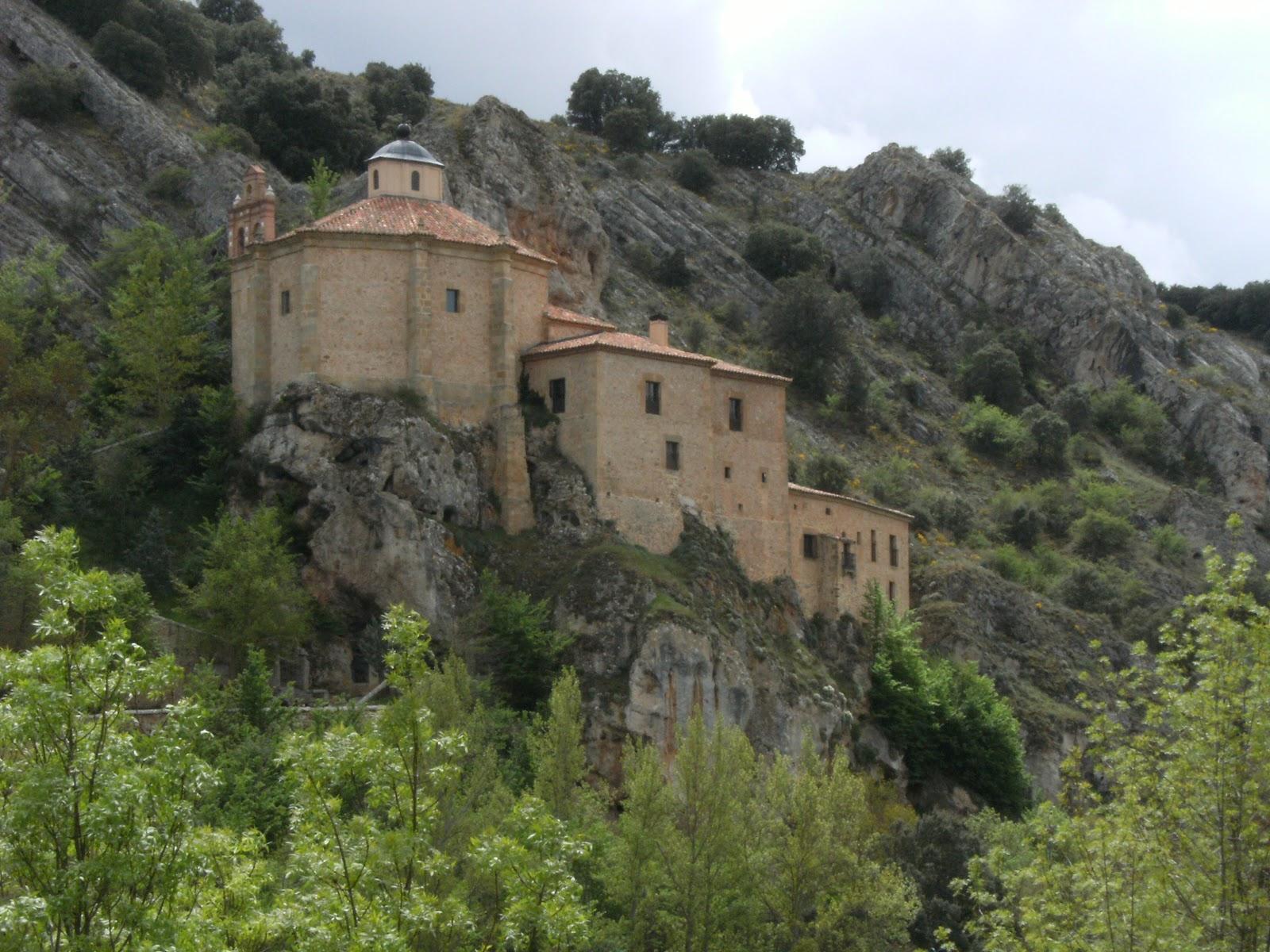 Buscando Montsalvatge: SORIA. Ermita de San Saturio