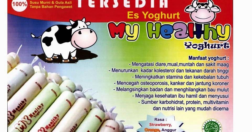 GERAI JAJANAN SEHAT: YOGHURT MY HEALTHY (ES LILIN YOGHURT)