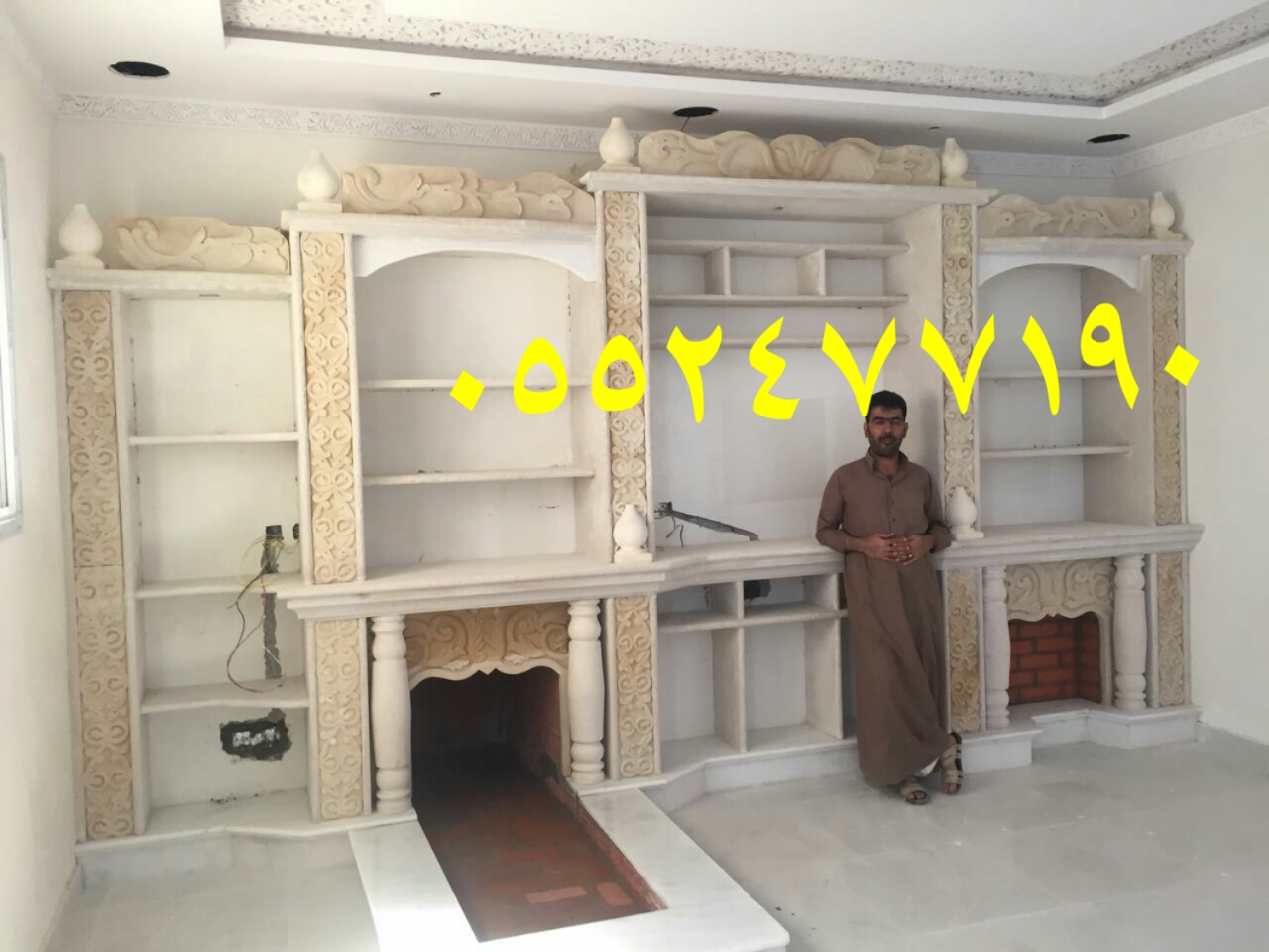 اسقف مشبات حديثة0552477190 صور مشبات جبس 0552477190