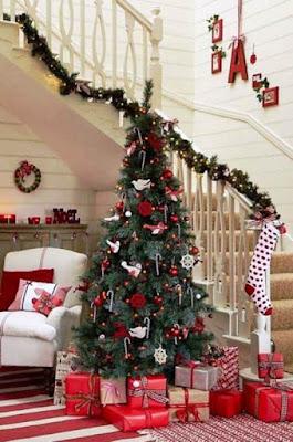 Contoh Dekorasi Pohon Natal Paling Cantik