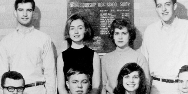 Hillary Diane Rodham Clinton's first pitch for president at age 16