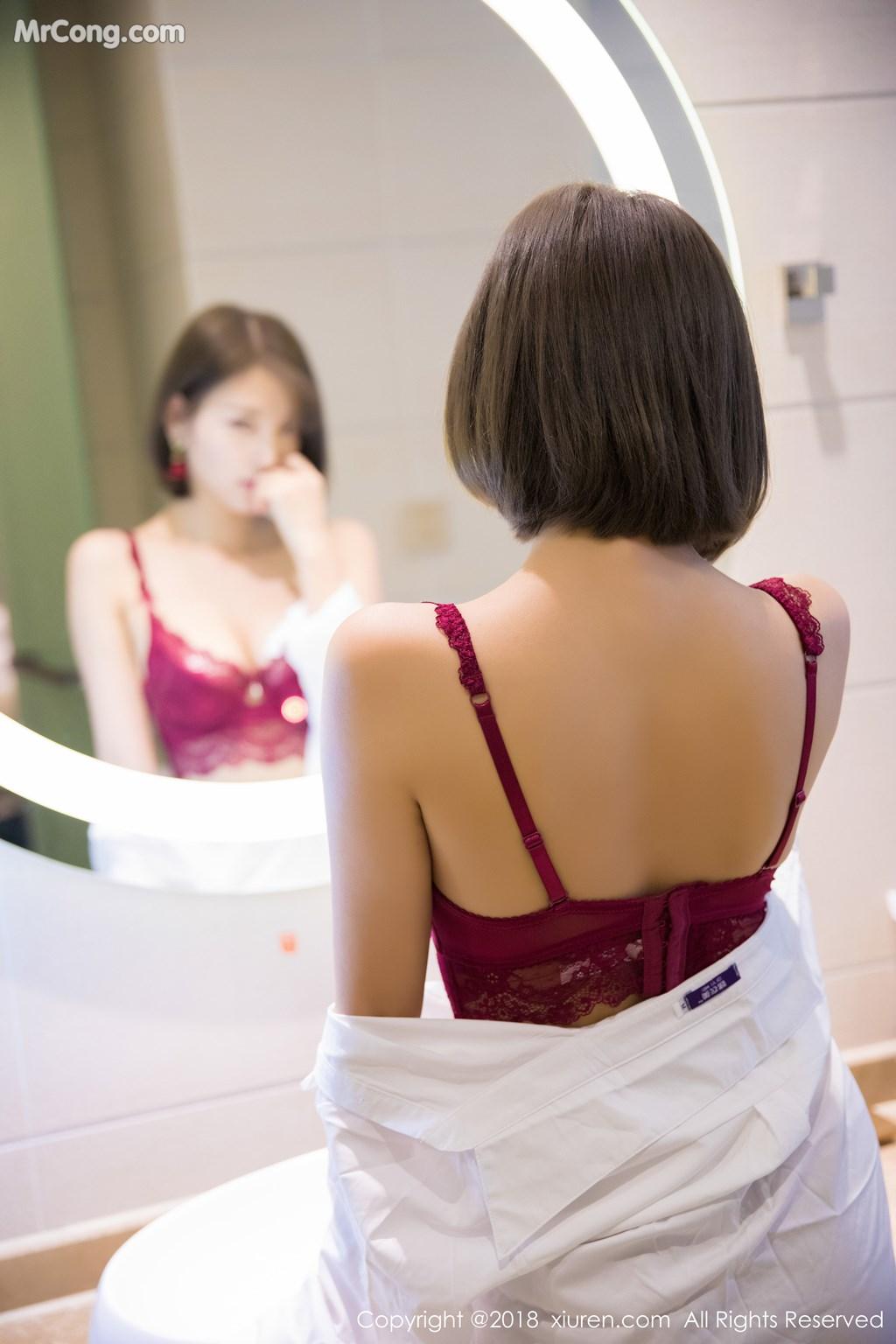 Image XIUREN-No.919-Yang-Chen-Chen-sugar-MrCong.com-049 in post XIUREN No.919: Người mẫu Yang Chen Chen (杨晨晨sugar) (55 ảnh)