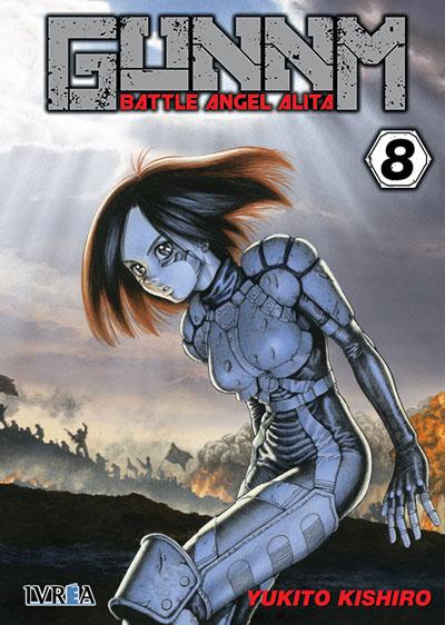 """Reseña de """"GUNNM: Alita Angel de Combate"""" vol. 8 de Yukito Kishiro - Ivréa"""