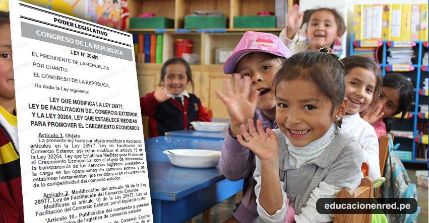 Incorporan en la Ley 28044, Ley General de Educación, el principio de la cultura de paz y no violencia en el sistema educativo peruano (Ley Nº 30810) MINEDU - www.minedu.gob.pe