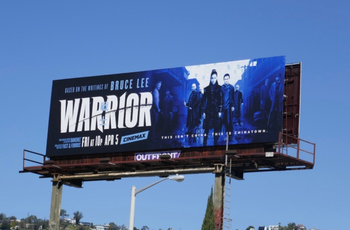 Warrior series launch billboard