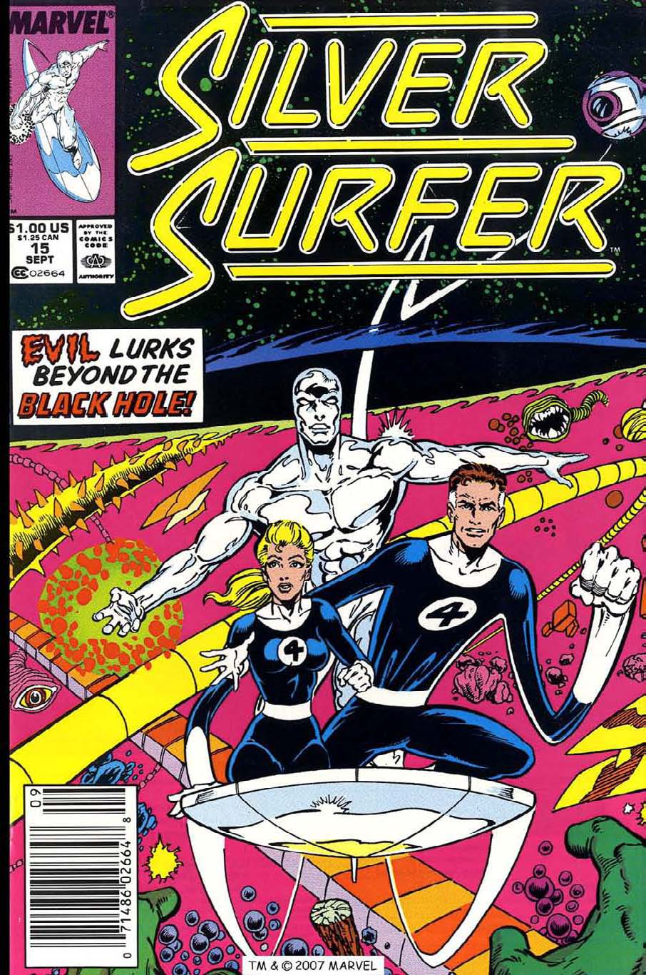 Read online Silver Surfer (1987) comic -  Issue #15 - 1