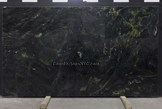 Fusion Green Marble Slab NYC 2cm