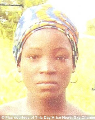 chibok girl found alive sambisa forest