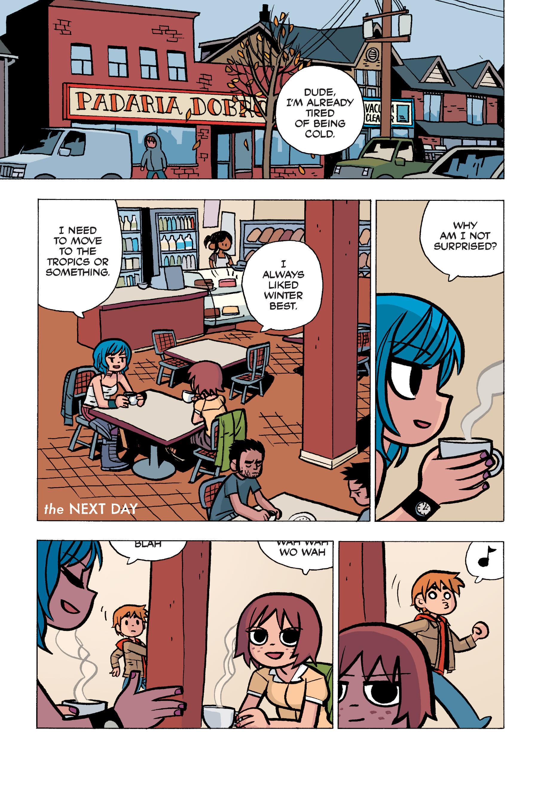 Read online Scott Pilgrim comic -  Issue #5 - 70