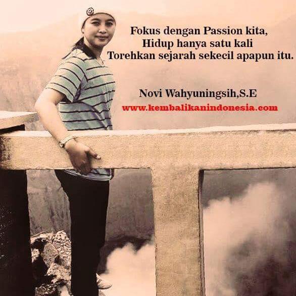 Pemilik App Callind Novi Wahyu Ningsih Kebumen.