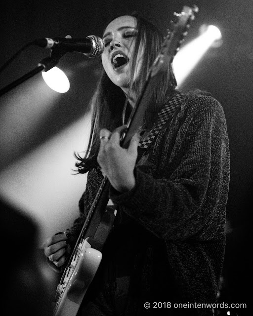 Soccer Mommy at Longboat Hall on April 28, 2018 Photo by John Ordean at One In Ten Words oneintenwords.com toronto indie alternative live music blog concert photography pictures photos