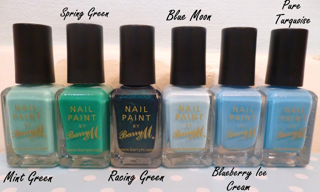 My Barry M Nail Paint Collection (Updated)