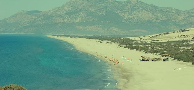 patara lycia beach