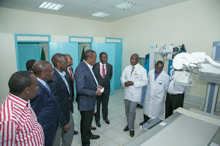 The Hospital serve the whole county as the only level five hospital. PHOTO : PSCU