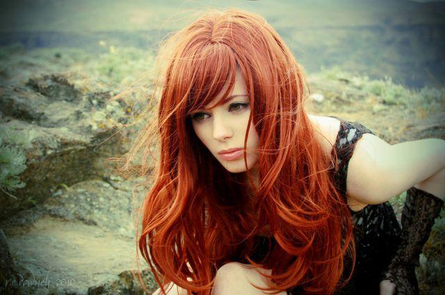 Beautiful redhead photo 36