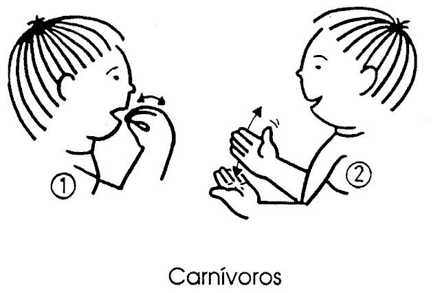 Imagenes De Animales Carnivoros Para Colorear: Animales Carnivoros Dibujados