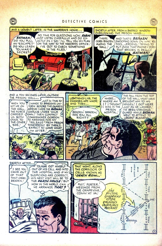 Read online Detective Comics (1937) comic -  Issue #169 - 13