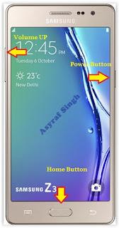Hard Reset Samsung Z3