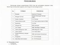 Lowongan Kerja RSUD Koja Jakarta Tahun 2017