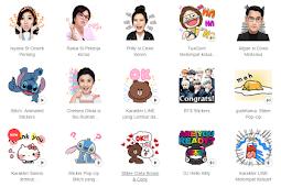 Cara Mendapatkan Sticker Gratis LINE MOD Android