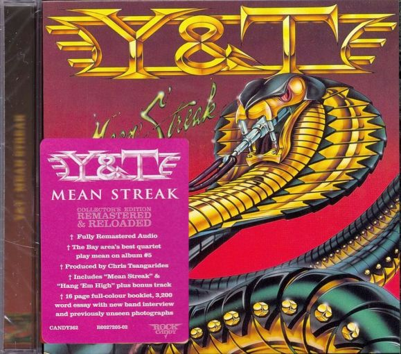 Y&T - Mean Streak [Rock Candy remastered +1] (2018) full