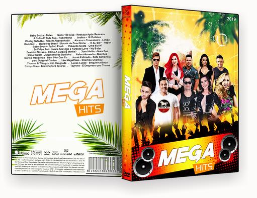 CAPA DVD – Mega Hits Verão 2019 – ISO