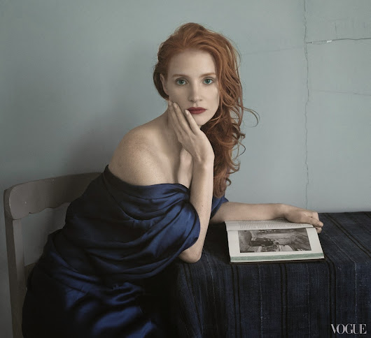 Jessica Chastain - by Annie Leibovitz - Nice Design Photographers | Nice Design Photographers