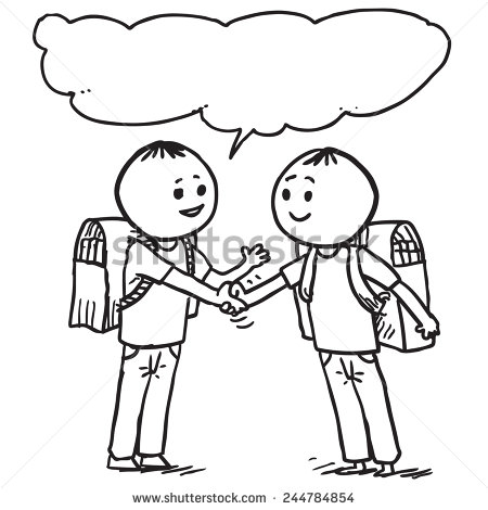 Two Hands Reaching For Each Other Coloring Page