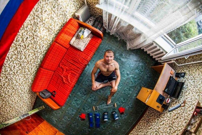 غرفة نوم من نوفوسيبيرسك - روسيا