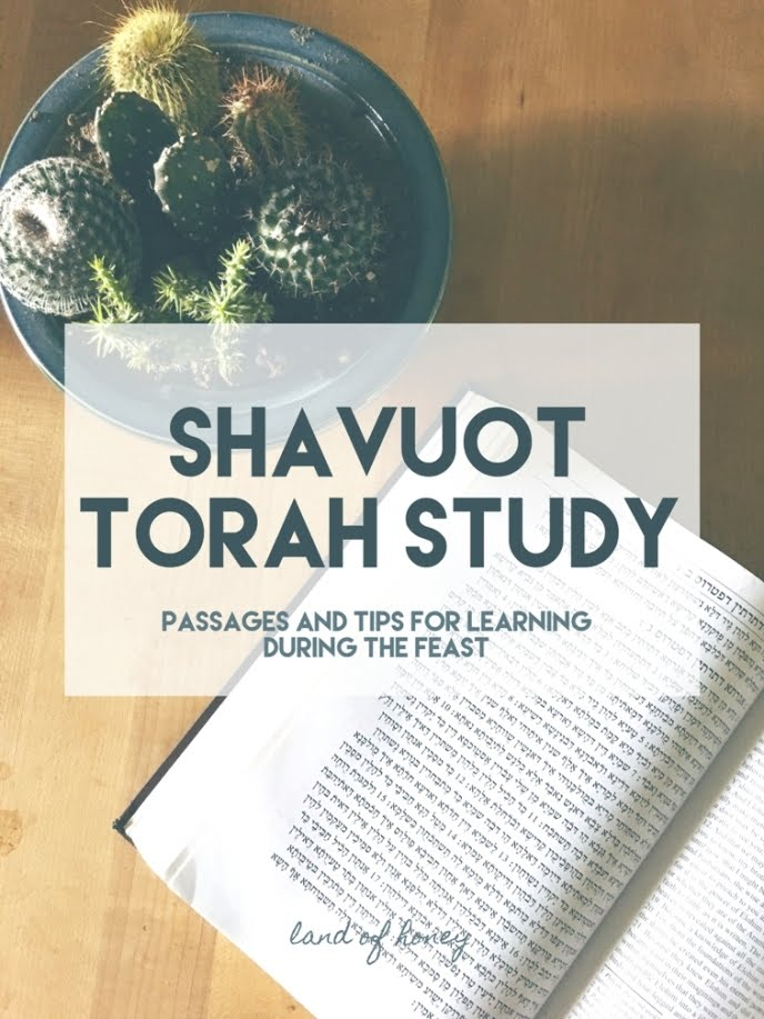 Torah Study Tips for Shavuot