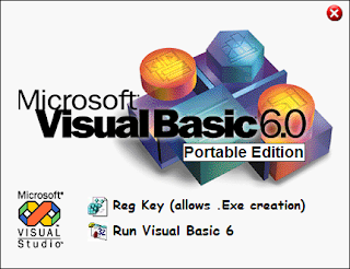 Microsoft Visual Basic Portable 6.0 Portable Full Download