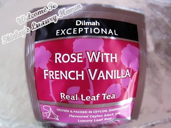 dilmah rose french vanilla tea