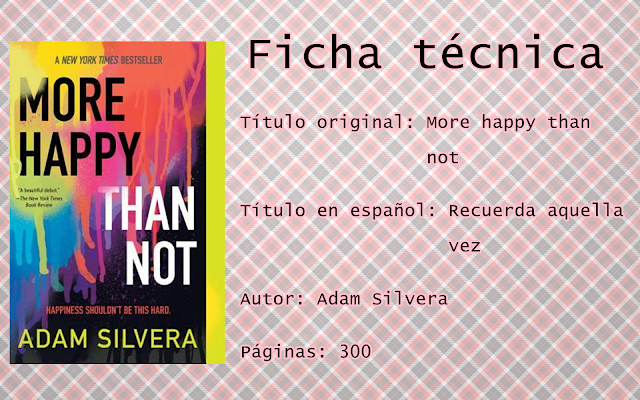 "Reseña: ""More happy than not"""