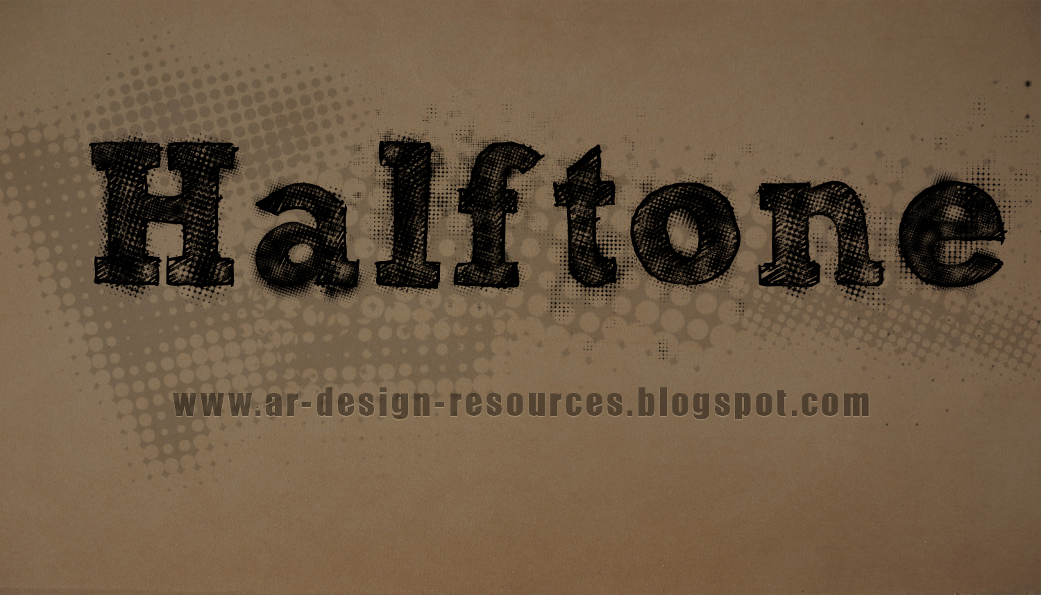 Free halftone brushes and patterns pack
