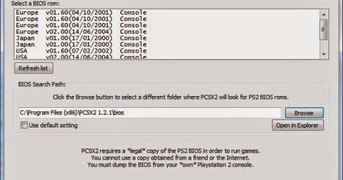 BIOS DE PCSX2 PS2 EMULADOR PARA 0.9.8 BAIXAR