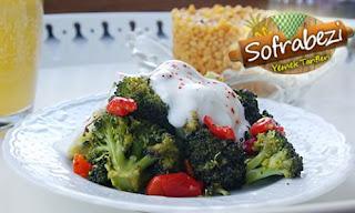 Yogurtlu Brokoli Salatasi