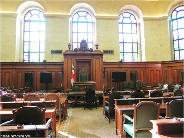 Cámara del Consejo del Ayuntamiento de Montreal