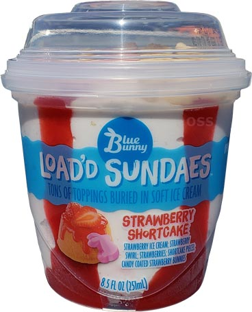 On Second Scoop Ice Cream Reviews Blue Bunny Strawberry Shortcake