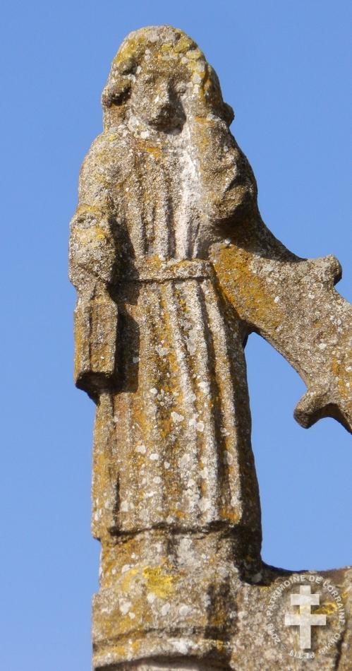 MARAINVILLE-SUR-MADON (88) - Croix-calvaire