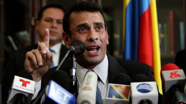 Tribunal prohibió salida de Venezuela a Henrique Capriles