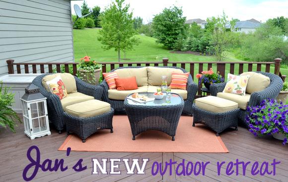 Jan's New Outdoor Retreat