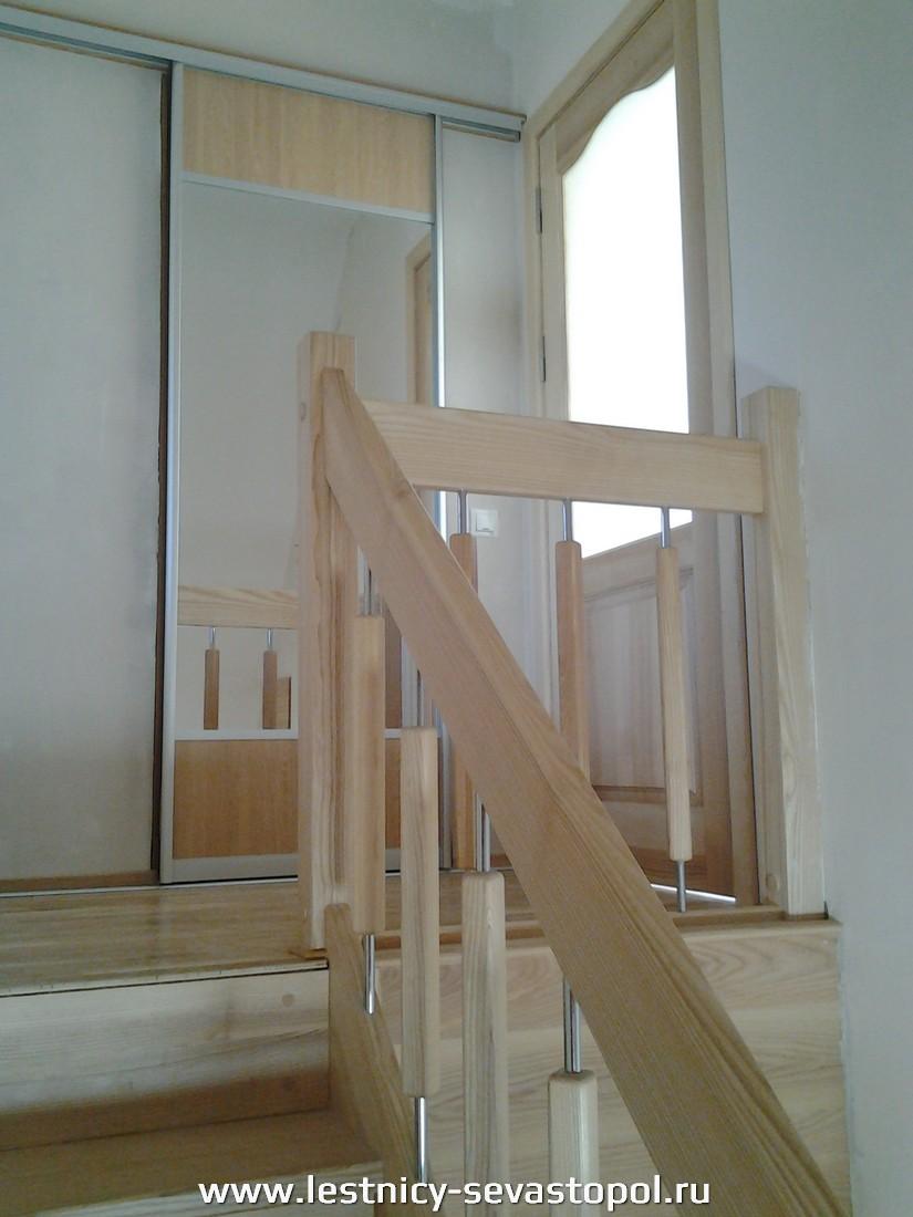 Частное фото деревянных лестниц
